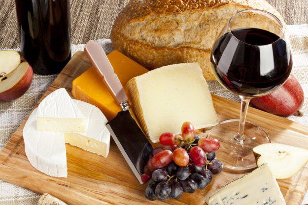 Firmenfeier Hannover - Käse und Rotwein