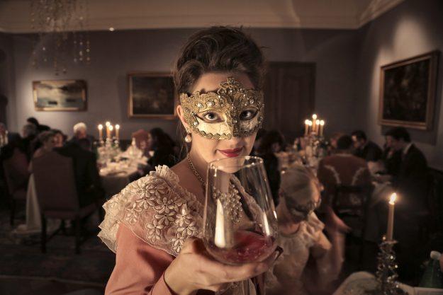 Geschenkgutschein Krimi-Dinner – Maskenball