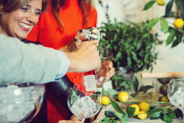 Geschenkgutschein Gin-Tasting – Zubereitung