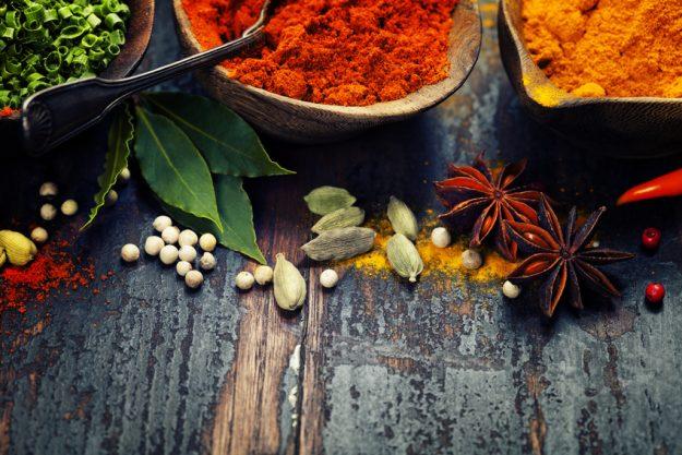 indischer Kochkurs Senden – Gewürzauswahl