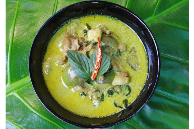 indischer Kochkurs Senden – grünes Curry