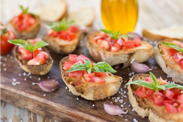 Italien-Kochkurs Senden – Bruschetta