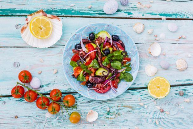 Italien-Kochkurs Senden – mediterraner Salat
