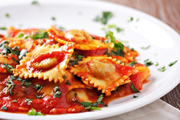 Italien-Kochkurs Senden – Ravioli mit Tomatensauce