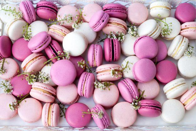 JGA mit Cupcake-Kurs - Macarons rosa