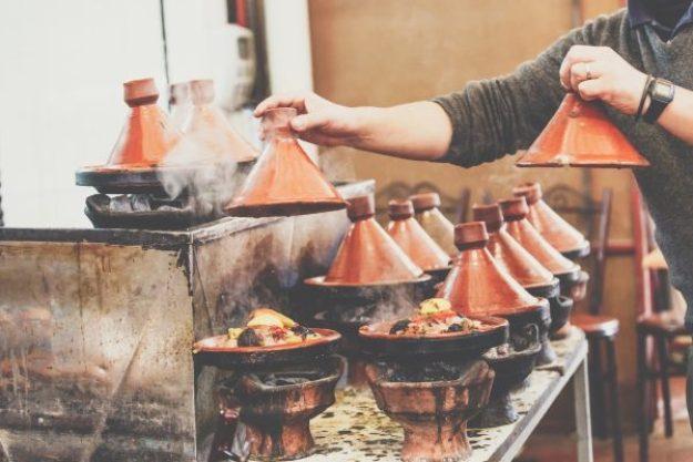 Marokko-Kochkurs Münster –Tajine mit Fisch, Fleisch und Gemüse