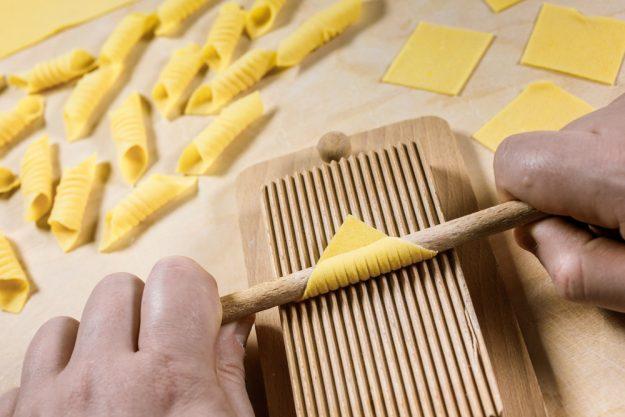 Pasta-Kochkurs Senden – frische Nudeln formen