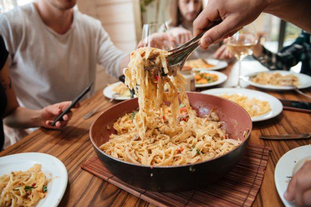 Pasta-Kochkurs Senden – große Nudelschüssel
