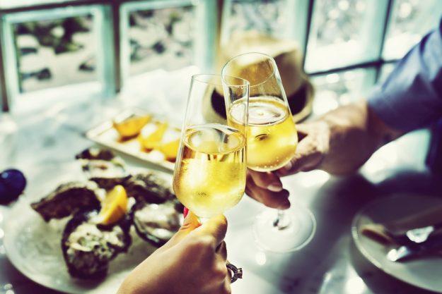 Kulinarisches Firmenevent – Champagner