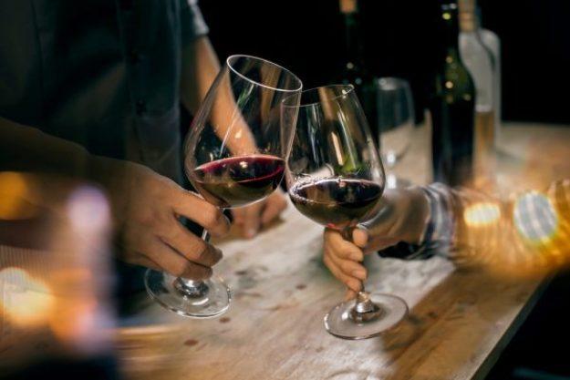 Weinprobe Münster – Anstoßen
