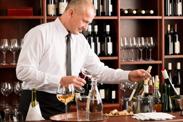 Weinseminar Münster - Gläser aussuchen