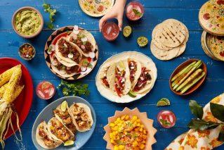 Kochkurs online  Mexican Tacos-Kochkurs@Home