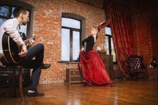 Weinverkostung in Münster Wein und Flamenco