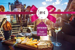 Gutschein für eine kulinarische Stadtführung Gutschein kulinarische Stadtführung 89€