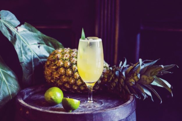 Cocktailkurs-Gutschein –Cocktail mit Wodka, Limette und Ananas