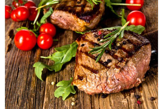 Wintergrillen in Karlsruhe - Steaks