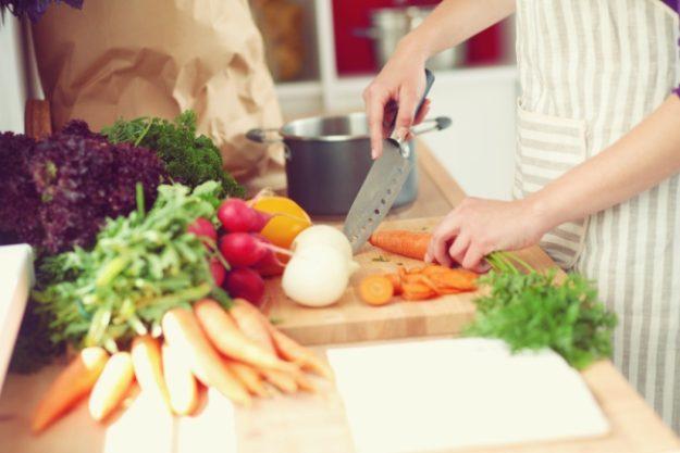 Kochkurs-Gutschein –Gemüse schneiden