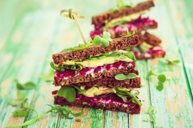 Veggie-Kochkurs-Gutschein –Toast-Sandwich mit Gemüse und roter Beete