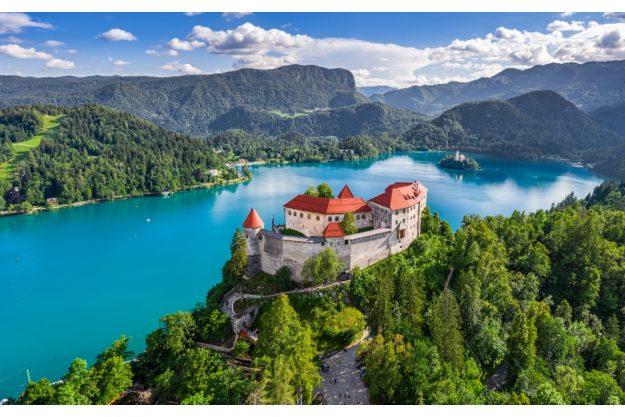 Virtuelle Reise nach Slowenien herrliche Landschaft
