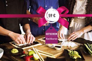 Kochkurs-Gutschein Kochkurs-Gutschein 59€