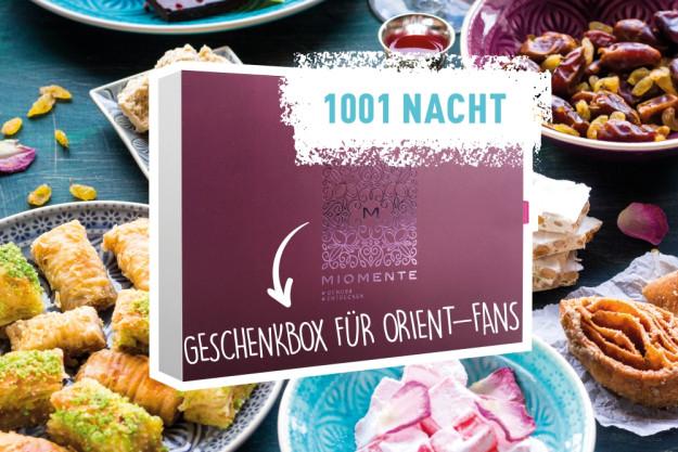 1001 Nacht - Geschenkidee Geschenkgutschein
