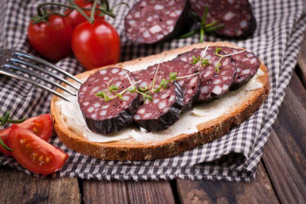 Bierprobe Heidelberg - Blutwurst Bortzeit