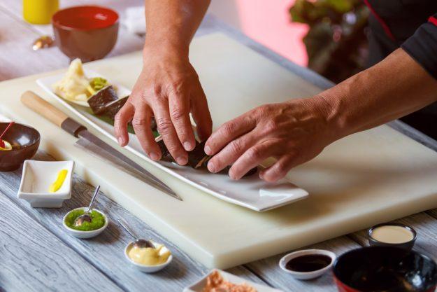 Geschenk-Gutschein-Kochkurs – Sushi