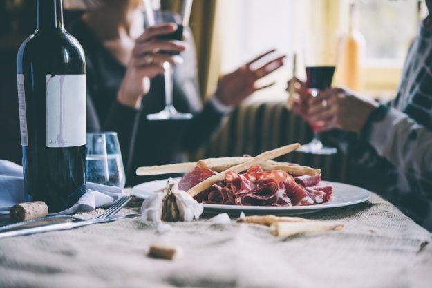 Junggesellenabschied – Wein trinken