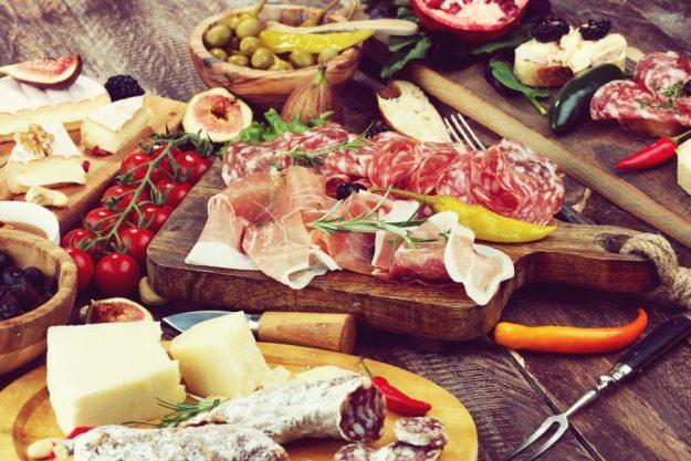 Kochkurs Heidelberg – italienische Produkte