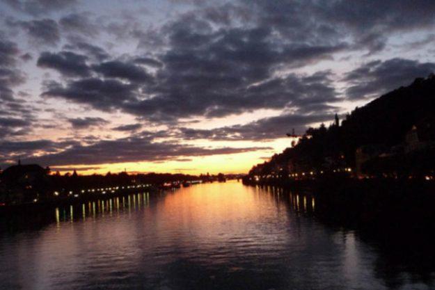 Kulinarische Stadtführung Heidelberg - Sonnenuntergang