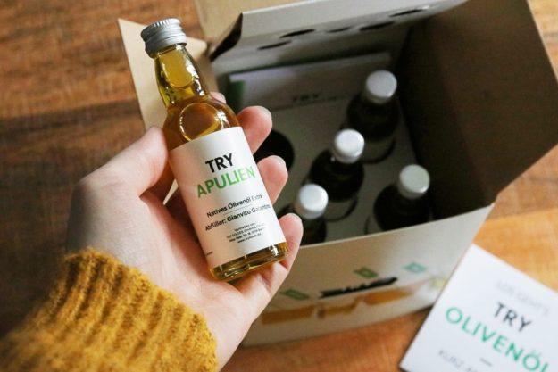 Olivenöl-Tasting at Home – Apulien Olivenöl