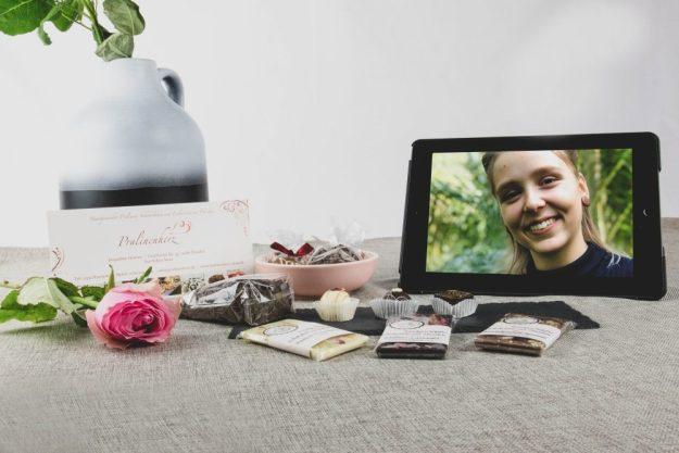 Parlinenverkostung@Home –Pralinen-Box