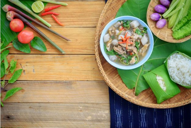 Thai Kochkurs online Suppe