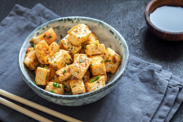 Veganer Kochkurs Heidelberg – gebratener Tofu
