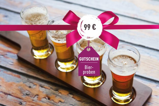 Geschenkgutschein Bierprobe – Biersorten