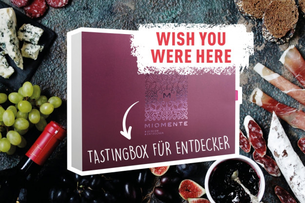 wish you were here – Geschenkbox Online-Events