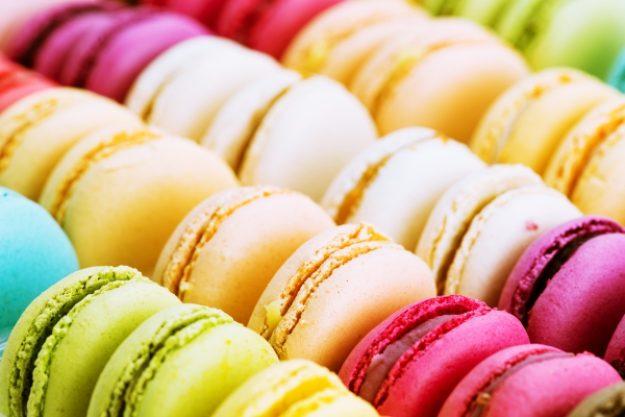 Süße Verführung - Bunte Macarons