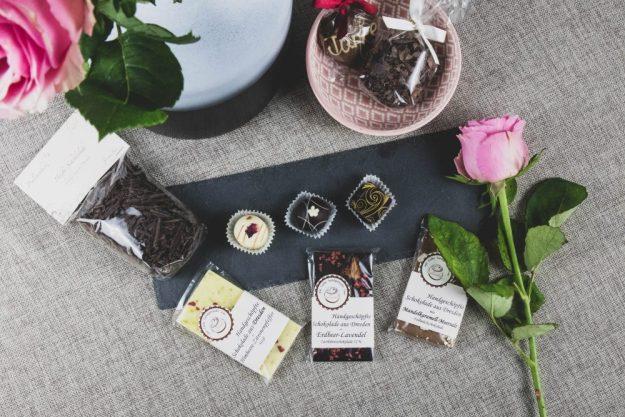 Parlinenverkostung@Home –Pralinen und Schokolade