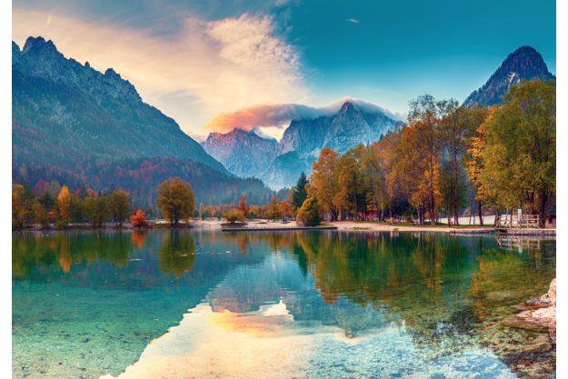 Virtuelle Reise nach Slowenien wunderschöne Seen