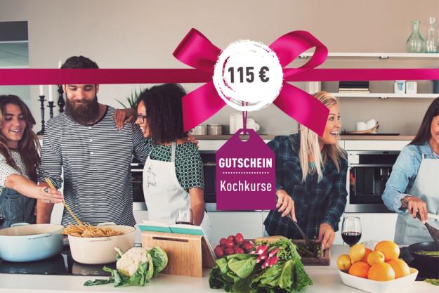 Geschenk-Gutschein-Kochkurs - 115 Euro