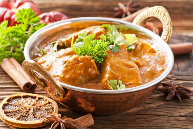 Betriebsausflug Essen - Exotische Currys
