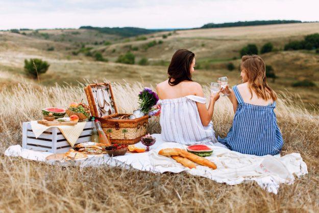 Genussabenteuer für Frauen – Picknick mit der besten Freundin