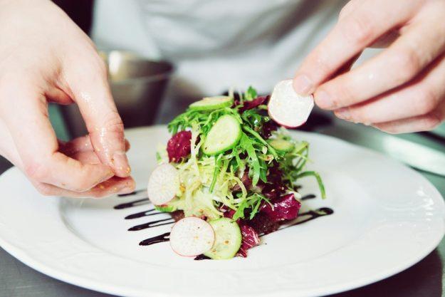 Kleine Aufmerksamkeit – Frische Gerichte