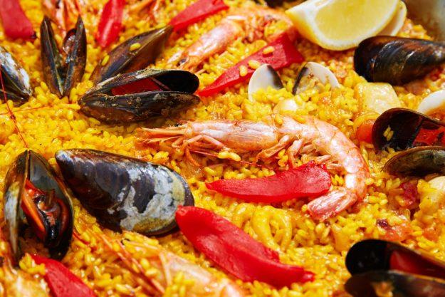 Tag am Meer - Paella