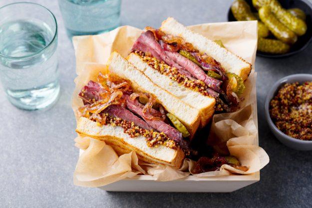Grillkurs Herten – Pastrami-Sandwich