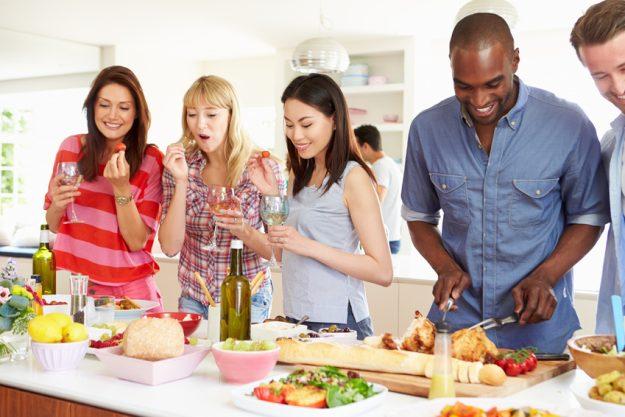 Incentive Essen regionale Küche - kochen mit Kollegen