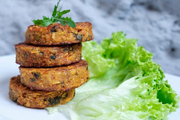 Vegetarischer Kochkurs Essen – Gemüse-Bratlinge