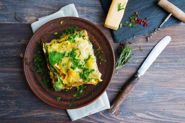Vegetarischer Kochkurs Essen – Gemüse-Lasagne