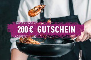 Erlebnis-Geschenk-Gutschein 200 € Geschenkgutschein