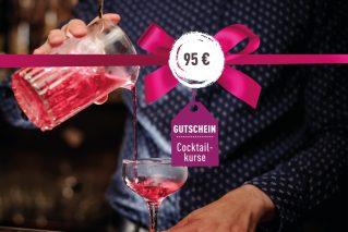 Cocktailkurs-Gutschein Cocktailkurs-Gutschein 95€